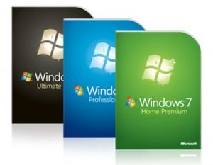versões windows 7