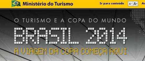 Slogan Portal Copa do Mundo 2014