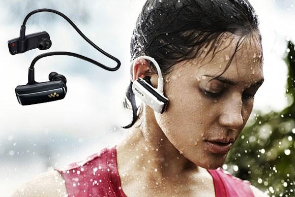 MP3 Player a água