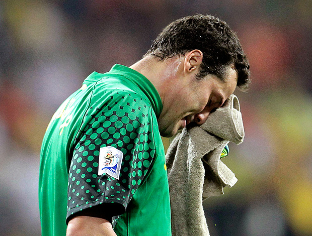 Brasil perde a Copa do Mundon 2010