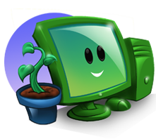 green-computing-icon