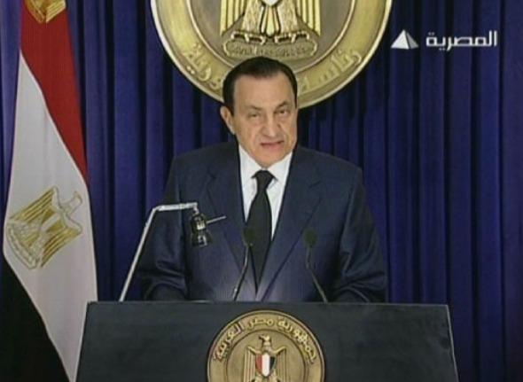 renuncia do presidente do Egito